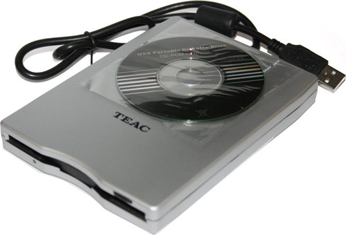 TEAC EXT FDD 3 5 FD 05PUW S SILVER USB